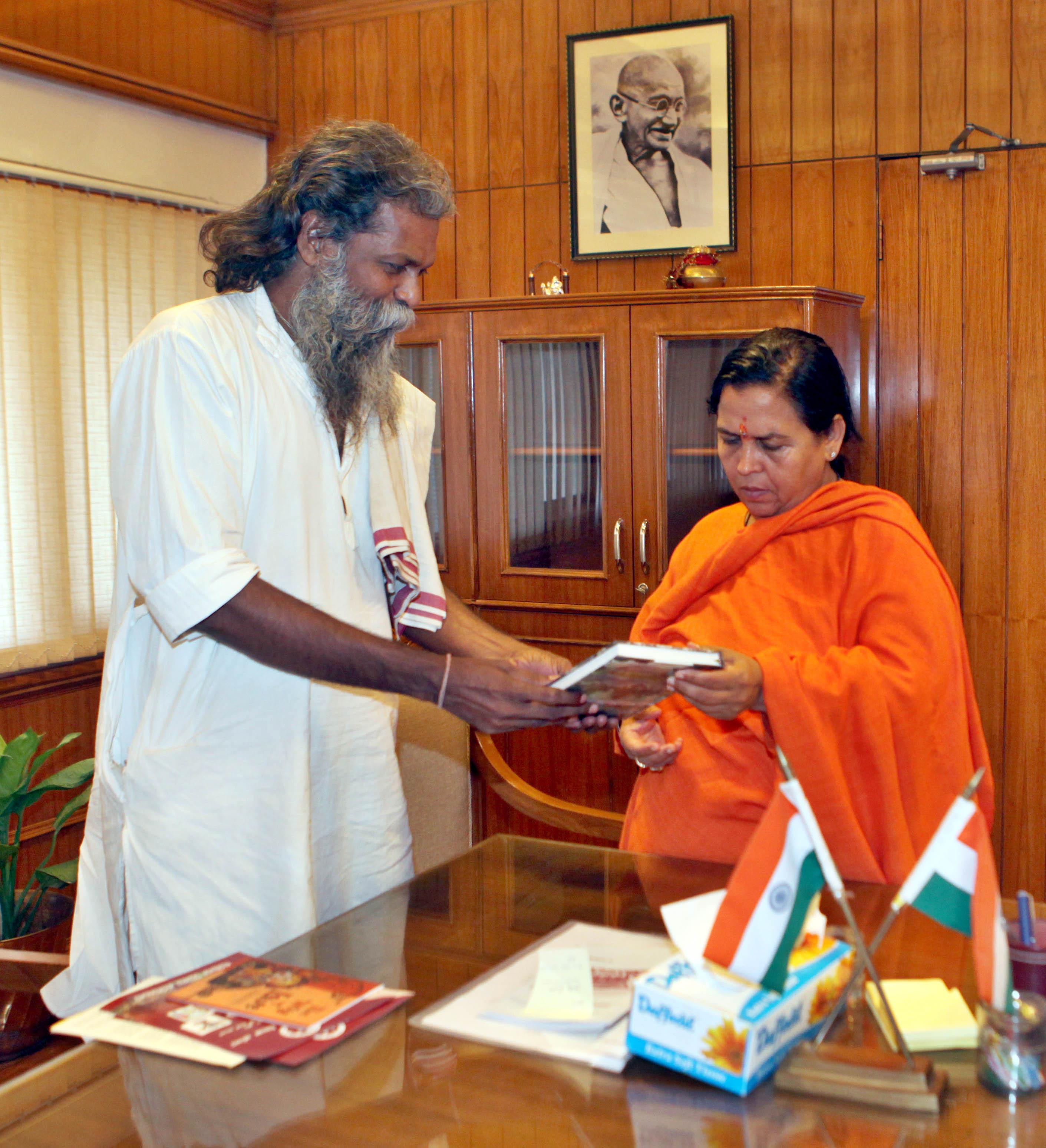 Meeting with Water Resource Minister - Uma Bharti